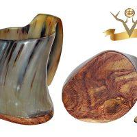 Valhalla Vineyards Wood Bottom Tankard