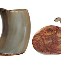 Valhalla Vineyards Wood Bottom Tankard