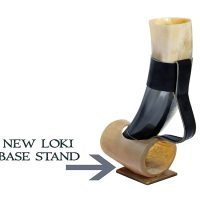 Loki's Dream Horn Natural Style Viking Wine/Mead Drinking Horn
